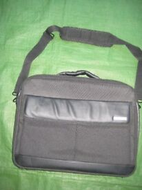 Black Fabric Belkin Laptop Case