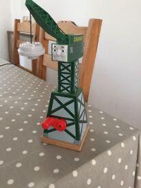 Wooden Cranky the Crane