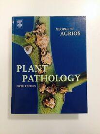 Plant Pathology 5th edition, George N. Agrios (brand new)