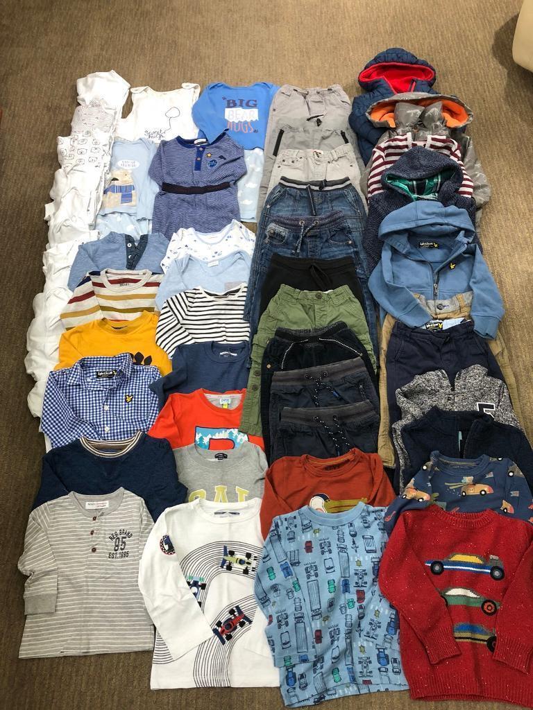 6a1861642   HUGE   Boys Age 18-24 months Autumn Winter Bundle!! Mostly ...