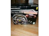 Xbox 360 2 joypads&steering wheel