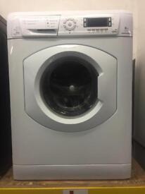 Hotpoint white good looking 8kg 1400spin washing machine