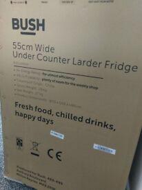 Brand new Bush larder fridge