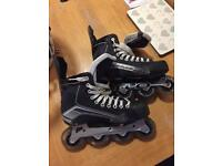 Bauer inline hockey skates size 7.5