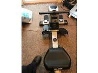 Rowing machine, gym equipment