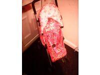 stroller pram in pink cosatto £35.00