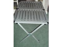 WYNNSTER SLATTED CAMPING TABLE