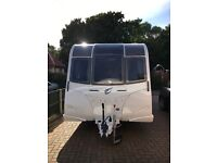 2017 Bailey Pegasus BRINDISI used once selling due to bereavement many extras with it