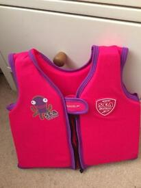 Children's swimming aid vest