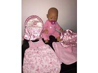 LTD EDIT / BABY ANNABELL SWEET PRINCESS DOLL