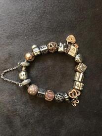 Full Complete Pandora Bracelet