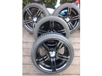 BMW M SPORT ALLOYS ALLOY WHEELS AND TYRES