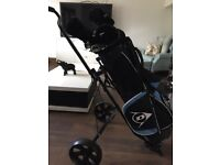Men's golf full set and trolley