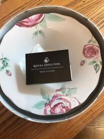 Royal doulton clouds serving dish