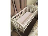 Mamas and papas wooden crib.