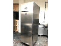 Foster commercial single door upright freezer, catering freezer
