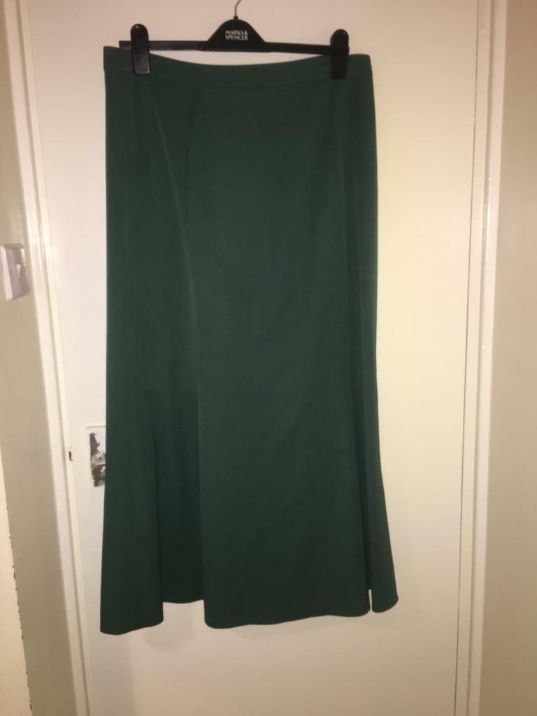 Long skirts size 14 bodycon