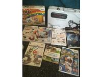 Nintendo Wii Console, Balance board and Games Bundle