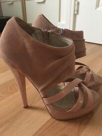 Carvela blush platform heels size 3 (36)
