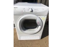 Hoover VHC681B 8kg Condenser Tumble Dryer in White #4591