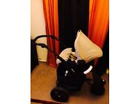 Excellent Condition Baby Bed with Car Seat system- Brought brand new for £400