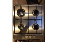 Gas Hob: Four burner CATA Stainless Steel