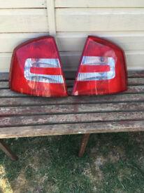 rear light cluster