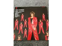 Rod Stewart Body Wishes vinyl lp
