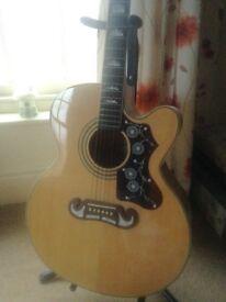 Epiphone EJ 200CE Electro Acoustic Guitar