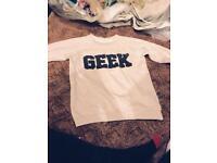 Geek girls jumper