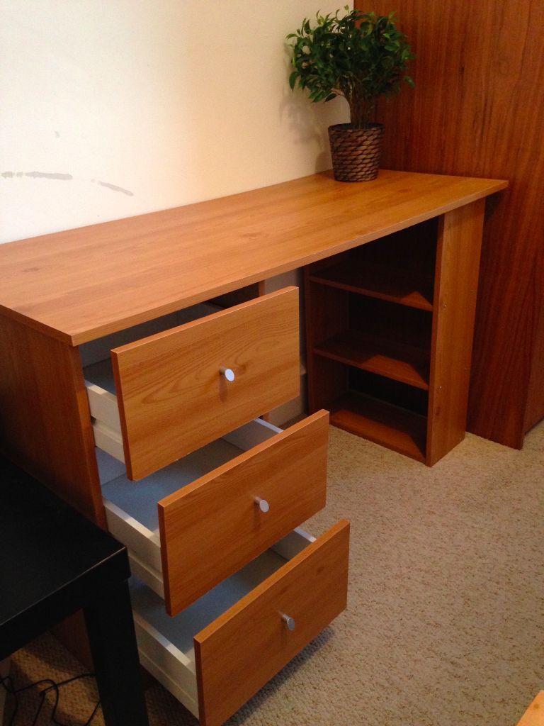 3 drawer desk in chelsea london gumtree for Furniture gumtree