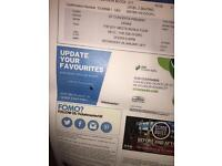 2x Drake seated tickets