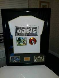Oasis Signed Memorabilia.