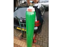 Welding gas pure argon