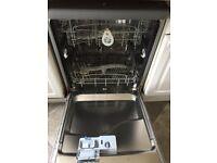 Grey hotpoint dishwasher