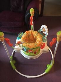 Fisher price sunny days jumperoo baby bouncer