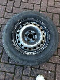 VW T4 15' spare wheel