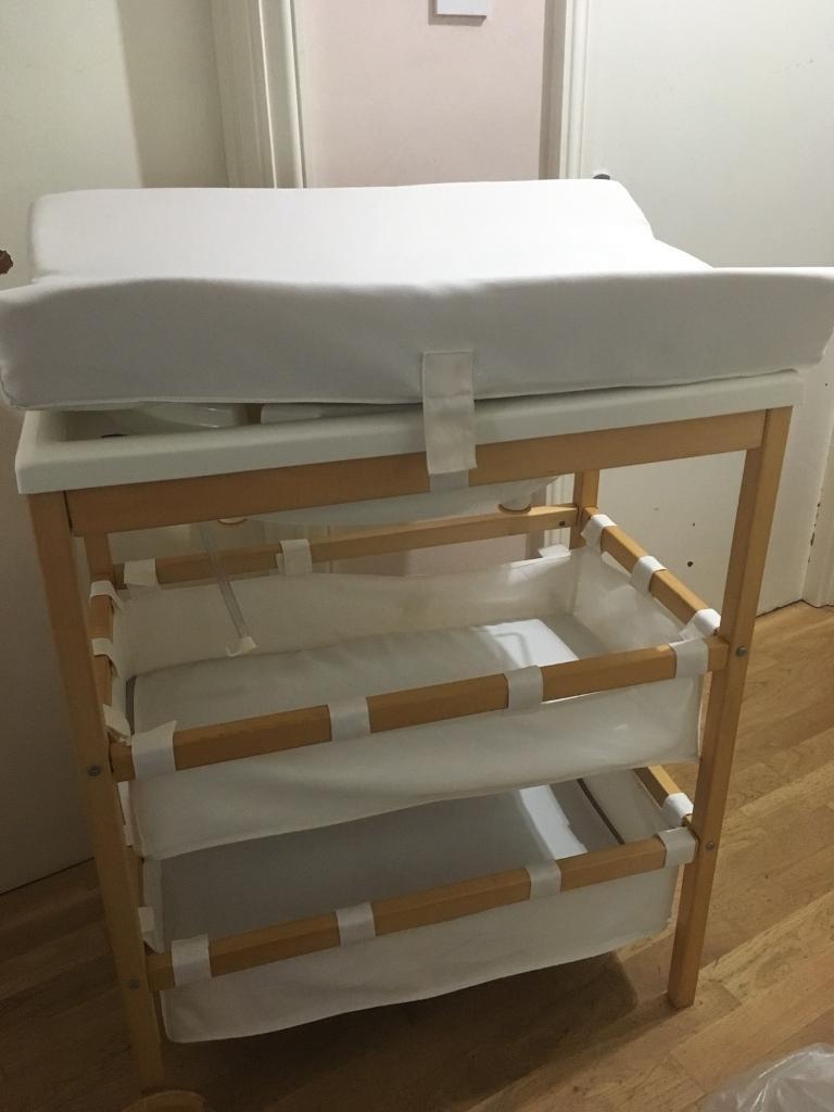 Bath and changer unit with integrated storage (By East Coast Nursery ...