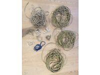 Assorted CAT5 CAT6 Ethernet Cables - 0.5m-20m length