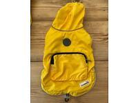 Doodlebone yellow raincoat s