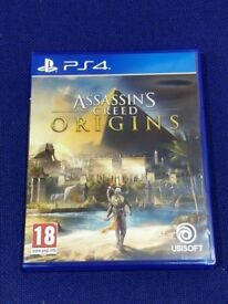 Assassin's Creed Origins PS4 *LIKE NEW*