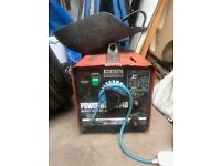 Sealey 140 XE Power Welder (with some rods)