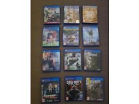 Ps4 1tb with 1 controller 12 games