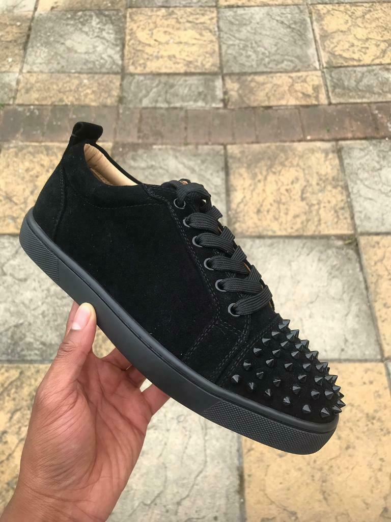 official photos e9e16 4c649 Christian Louboutin Sneakers (Black/Suede) | in Ealing Broadway, London |  Gumtree