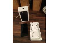 I phone 7, mint condition. Still with box and all accessories included