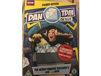 Dan TDN On Tour, signed DVD and VR cards.