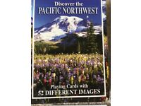 PLAYING CARDS - DISCOVER THE PACIFIC NORTHWEST