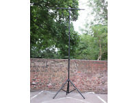 Massive 3.5 Metre Dual Telescopic Lighting Stand with Lighting T Bar