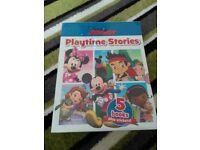 Disney junior playtime stories 5 books plus stickers BN