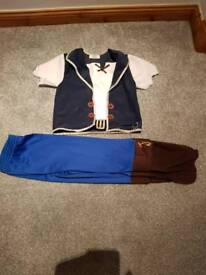 7-8 yrs 3 disney store outfits